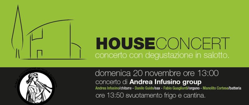 House concert 20 novembre 2016