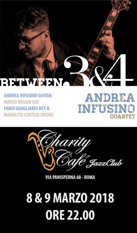 Andrea Infusino Quartet @ Charity Cafè