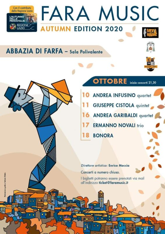 Andrea Infusino quartet al Fara Autumn Edition