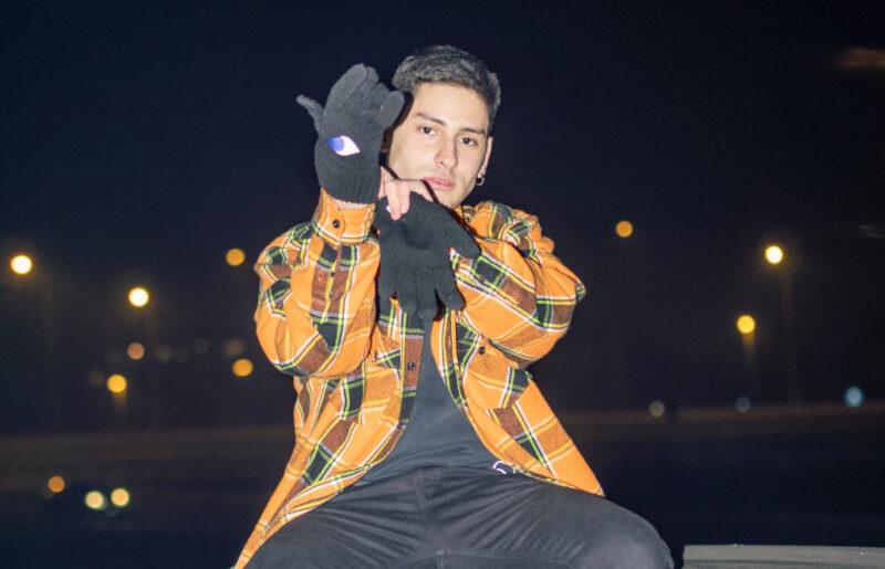 Diego Random, il rapper a ciel sereno